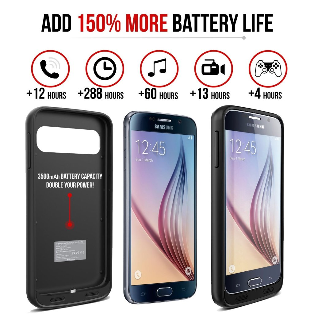 How to Extend Your Smart Phones Battery Life With a Battery Case