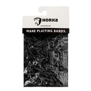 horka invlecht elastieken breedt zwart