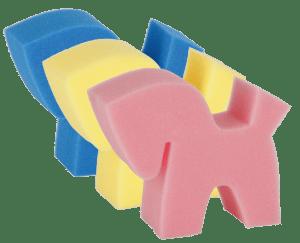 paardenspons in 3 kleuren