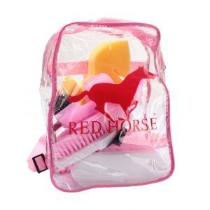 red horse poetsset in rugtas