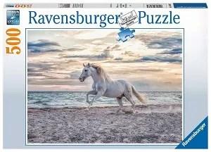 Ravensburger Puzzel Paard op het strand 500 stukjes