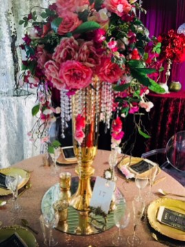 Rose Gold Centrepiece (1)