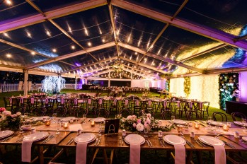 Clear Roof Marquee Wedding at South Perth Foreshore