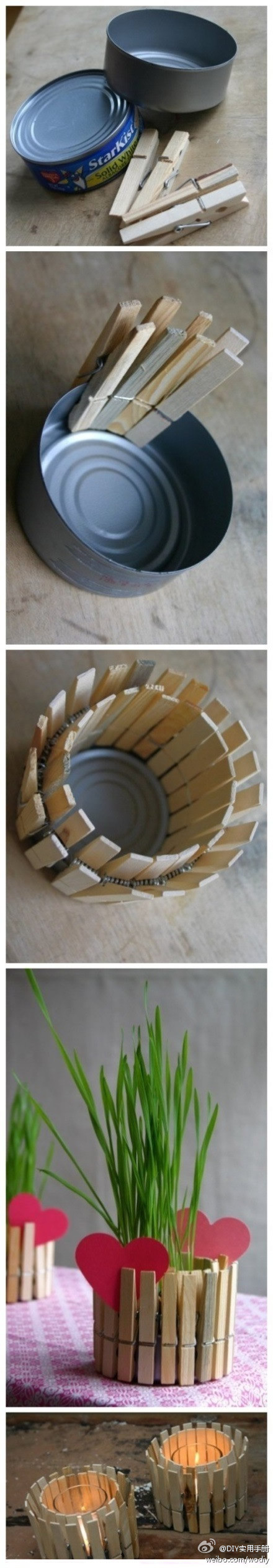 recycled tuna can project