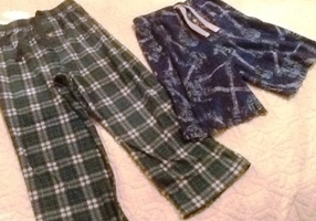 Five minute fix for outgrown jammies.