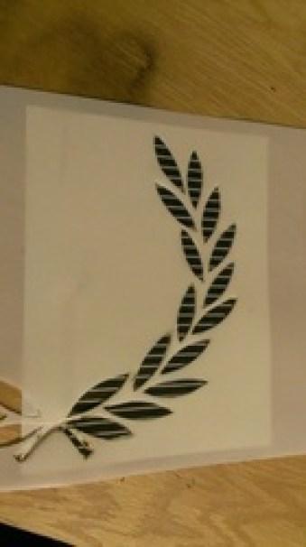 cut a stencil