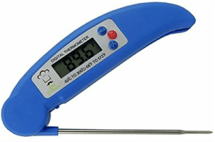 Instant Read Digital Cooking Thermometer by Chef DeTemple