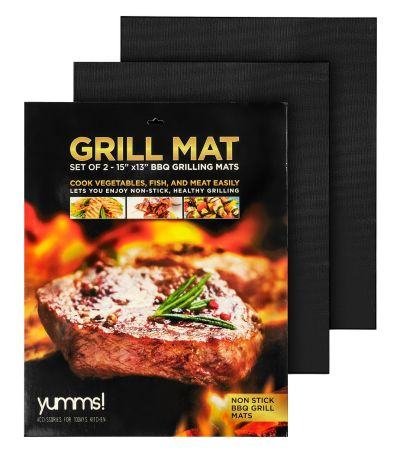 FREE Blogger Opportunity: Yumms Grill Mat Giveaway Sign Ups End 6/10