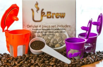 2016 Ultimate Holiday Gift Guide U-BREW Deluxe Gift Set Giveaway Ends 12/12 - 3 Winners