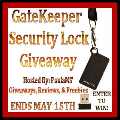 Tired of constantly locking & unlocking your computer? Enter to #WIN a GateKeeper #SecurityLock