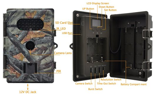 The XIKEZAN wildlife trail & game camera is designed for the user who demands performance and reliability at an exceptional value.