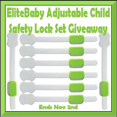 Enter to Win This Set of 8 Child Safety Locks Before the #Giveaway Ends 11/2