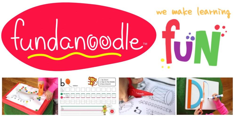 Fundanoodle - part of US Japan Fam's Back To School Bonanza!