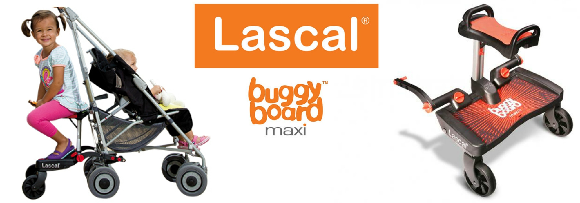 Win a Lascal BuggyBoard Maxi+ in US Japan Fam's $500 value