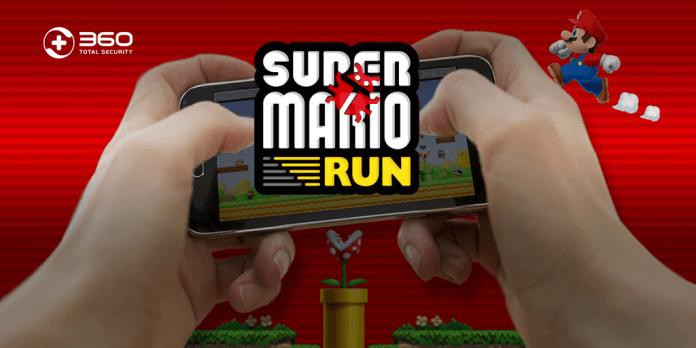 screenshot of super mario