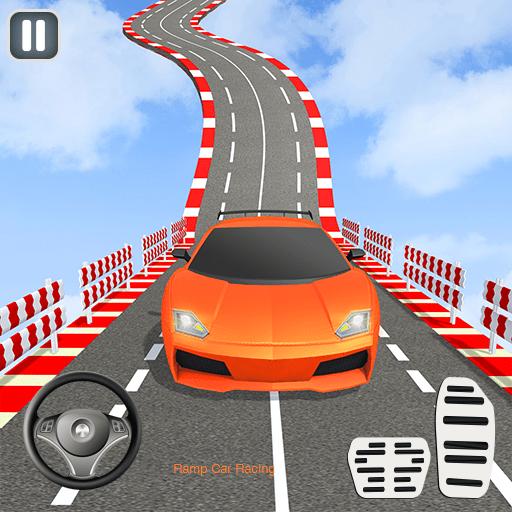 Ramp Car Stunts Racing Mod Apk.