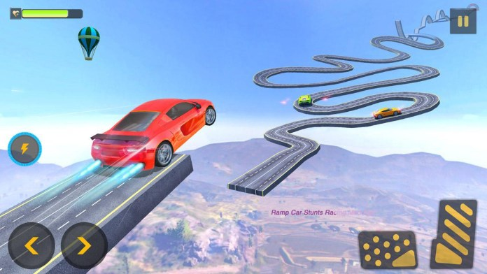 Ramp Car Stunts Racing Mod Apk
