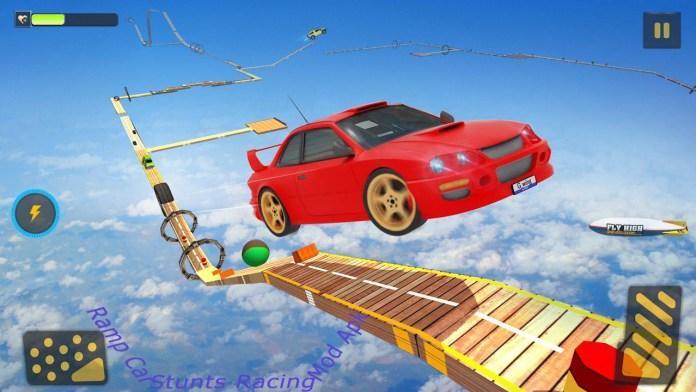 screenshot of Ramp Car Stunts Racing