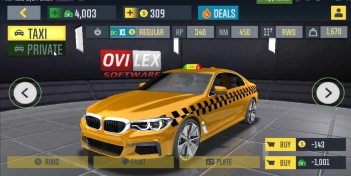Taxi Sim Mod Apk
