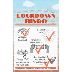 Lockdown Bingo Illustrated Cover