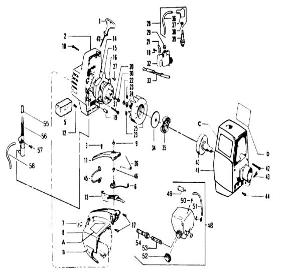 Diagram Craftsman 42cc Chainsaw Carburetor Engine Diagram