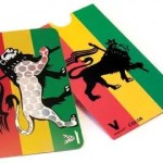 rasta lion credit card grinder