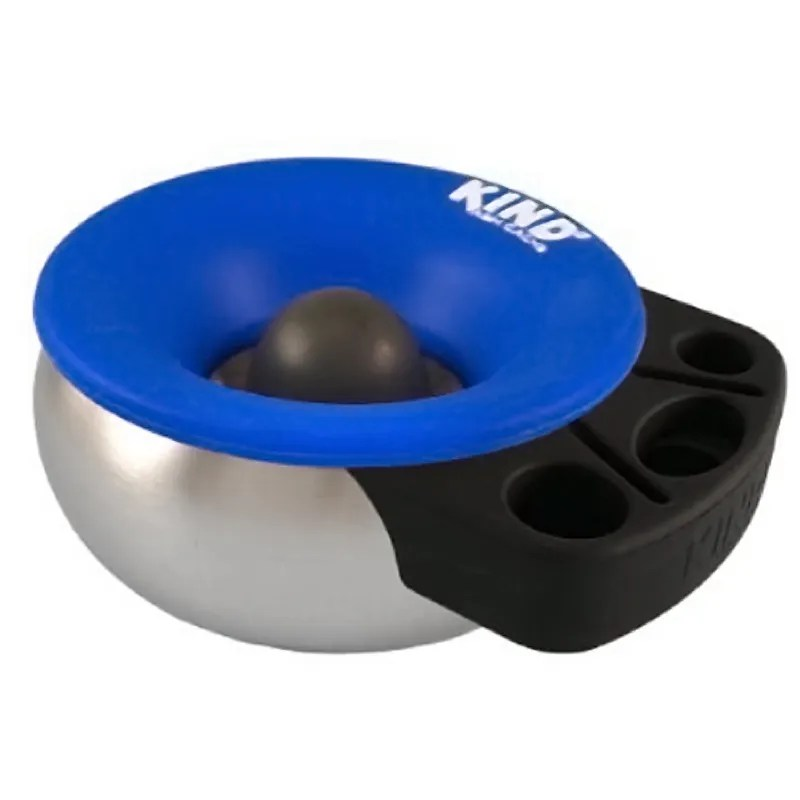 The Kind Ash Ashtray has a rubbery silicone nub for safely tapping glass pipes and stems.