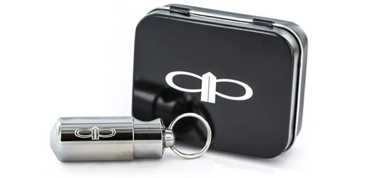 This keychain pipe is tiny, cool, and makes a great gift for smoking on the go.
