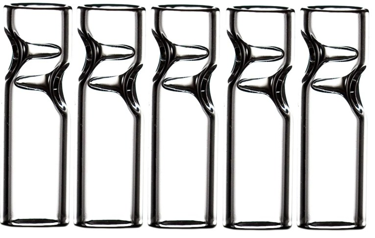 Glass tips for joints