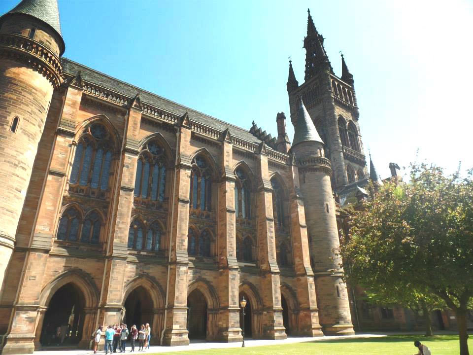 Back to Glasgow Uni