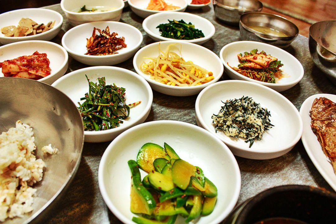boribap vegetarians in korea