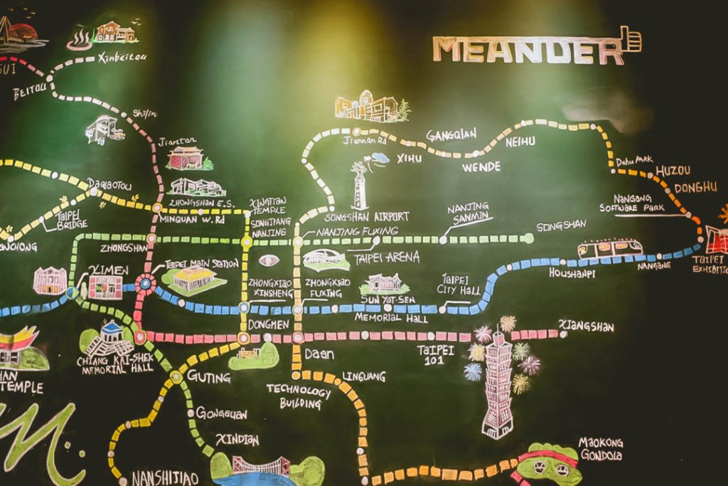 Where to stay in taipei meander hostel
