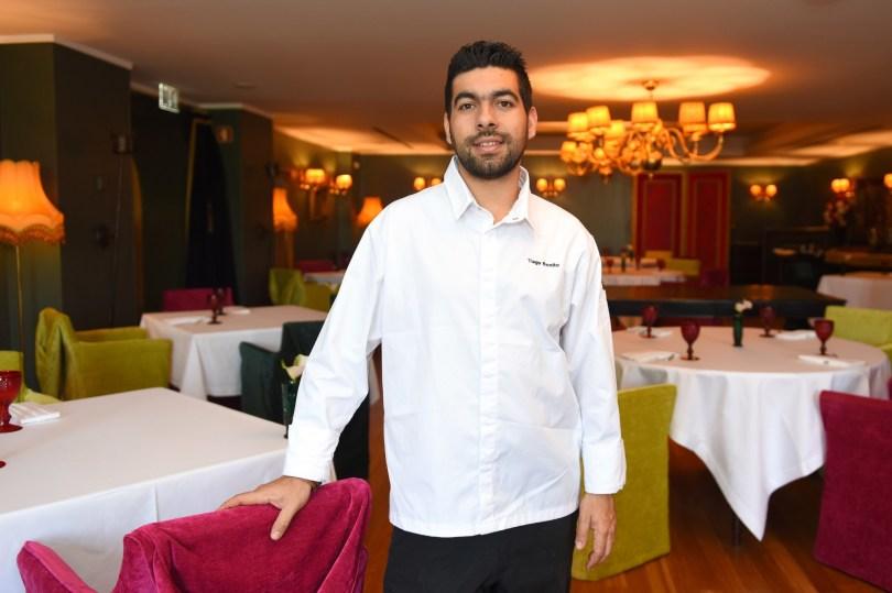 Chef Tiago Bonito - Largo do Paco - 1 etoile Michelin - Amarante - Lisbonne