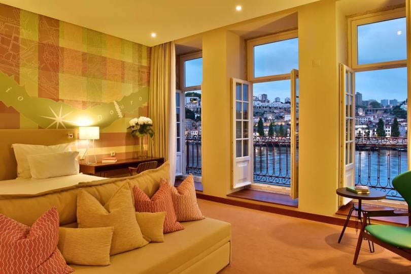 Chambre avec vue sur le Douro - Pestana Vintage - Hotel 5 etoiles - Porto