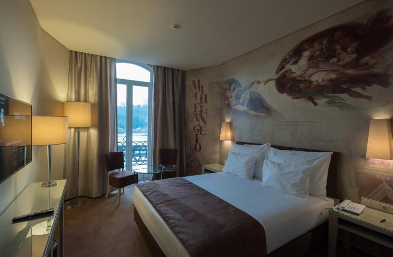 Chambre double - Vila Gale Porto Ribeira - Hotel 4 etoiles - Porto