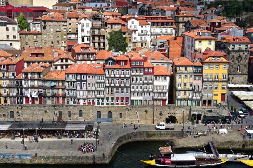 Ensemble des 12 batiments du Pestana Vintage Porto - Hotel 5 etoiles - Porto