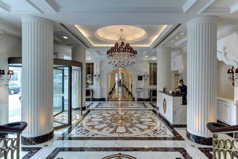 Entree et reception - Intercontinental Porto - Palacio das Cardosas - Lisbonne