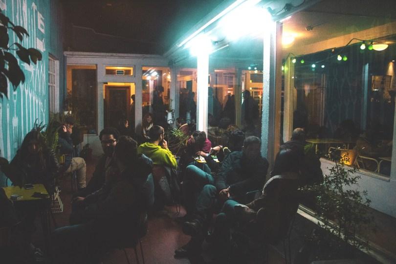 Petite terrasse du Maus Habitos - Bar - Espace alternatif - Porto