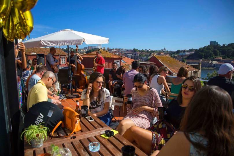 Terrasse du Mirajazz - Bar Jazzy - Porto