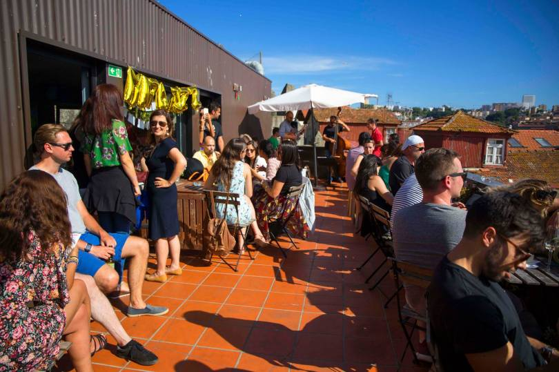 Terrasse du bar Mirajazz - Rooftop Porto