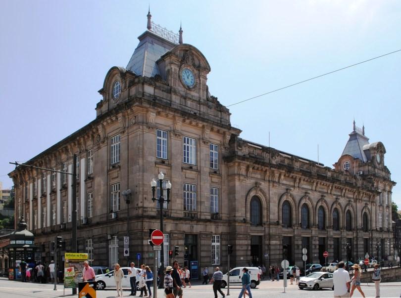 Gare de Porto Sao Bento - Architecture a la francaise