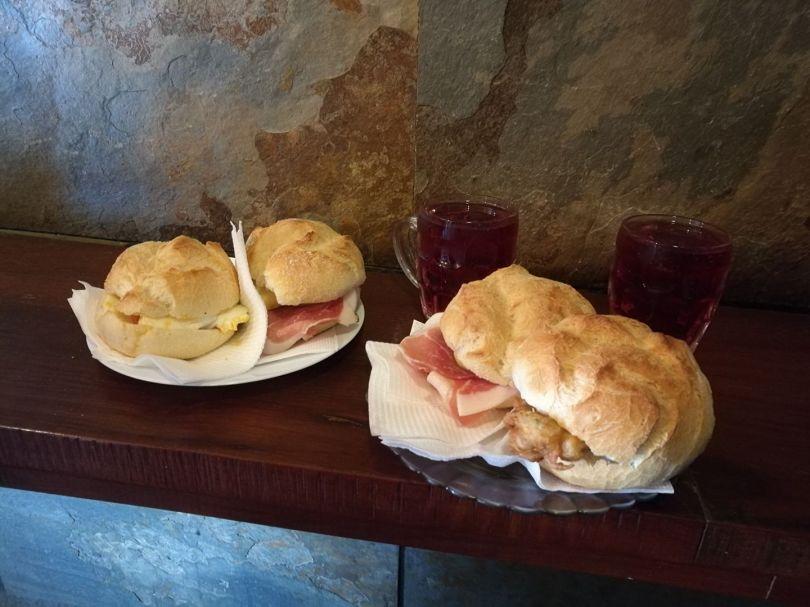 Sandwichs de la Tasca da Badalhoca - Porto