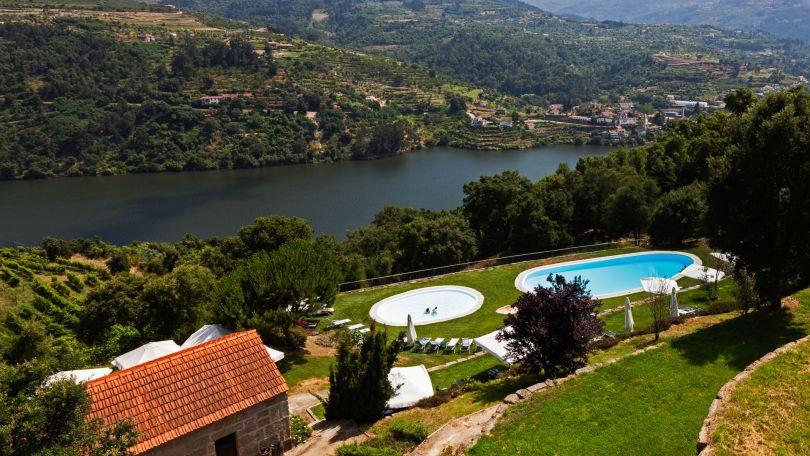 Piscine du Douro Palace Hotel Spa et vue sur le Douro - Hotel 5 etoiles - Porto