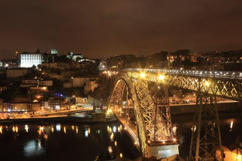 Pont Dom Luis I la nuit - Ponte de Dom Luis I de noite - Porto