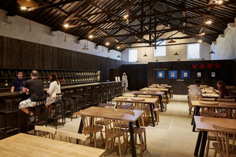 Salle de degustation des caves Cockburns - vin de Porto - Vila Nova de Gaia