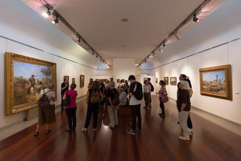 Salle exposition peintures classiques - Musee Soares dos Reis - Porto