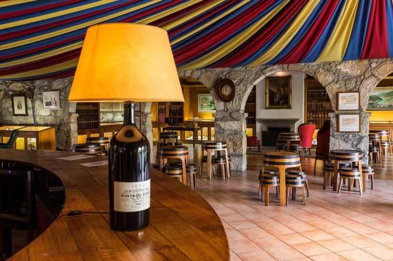 Salon de degustation vin de Porto - Cave Taylors - Vila Nova de Gaia