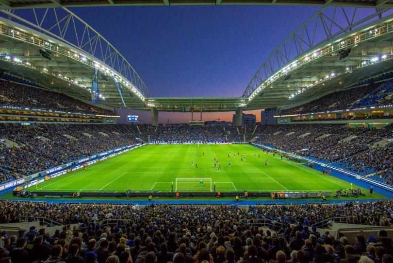 Stade du Dragon pendant un match du FC Porto - Portugal