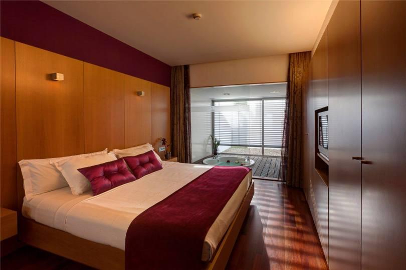 Chambre avec jacuzzi - Motel Dunas - Ovar