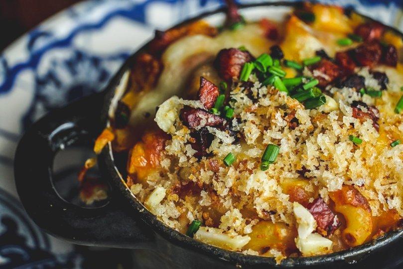 Mac and cheese revisite au restaurant Casa de Pasto da Palmeira - Porto